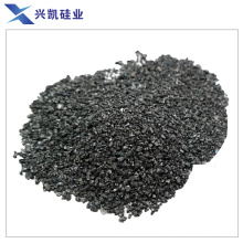 Silicon carbide used as smelting steel agent