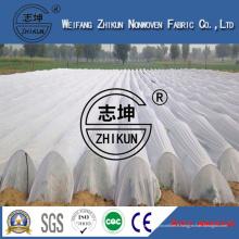 Tissu non-tissé de pp Spunbond d'utilisation de couverture d'agriculture