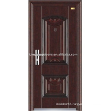 Security door Steel Door KKD-303 wood grain, competitive!