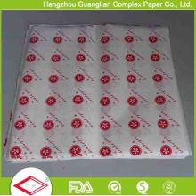 Food Wrapping Use Printed Greaseproof Paper Sheets