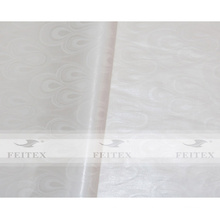 Weiße Farbe Afrikanisches Guinea Brokat bazin riche jacaqard Stoff 100% Baumwolle weiches Parfüm