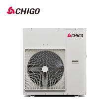 China Calentador de agua aprobado con mejores ventas de la pompa de calor de la fuente de aire del inversor R410a EVI del inversor de DC de la calidad del CE de la alta calidad para la piscina de natación