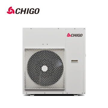 China Best Selling High Quality CE Certification Approved DC Inverter R410a EVI Air Source Heat Pump Water Heater for Swim Pool