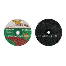 4 ′ ′ abrasivos que cortam a roda, eliminaram a roda para de aço inoxidável