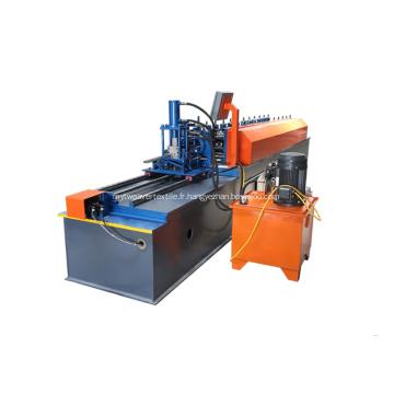 Machine de formage de quille en acier profilé Omega
