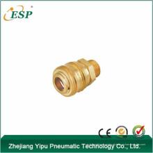 Acoplador rápido de ar pneumático de bronze ESP