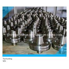 ANSI B16.5 Углеродистая сталь кованый стыковой сварной фланец