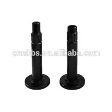 Custom fabrication cnc machined 1045 steel hollow spline shaft
