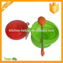 Venta al por mayor caliente-venta de la cuchara de silicona de cocina Premium