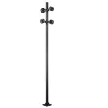 Luz de inundación de poste alto de alta protección para puerta delantera / trasera