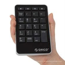 ORICO clavier numérique multifonctionnel portable; clavier portable portable