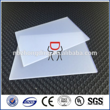 3mm thick polycarbonate frosted pc sheet for diffuser polycarbonate sheet