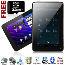 7-Inch Phablet Smart Phone + Tablet PC Android 4.0 Bluetooth GPS WiFi Unlocke