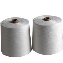 40s / 2 100% girou o branco cru da linha de costura do poliéster