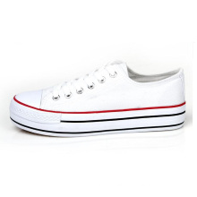 2014 new design korean girl shoes fashion shoes white canvas shoes