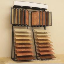 Floor Metal Display Rack for Tile Quartz Marble