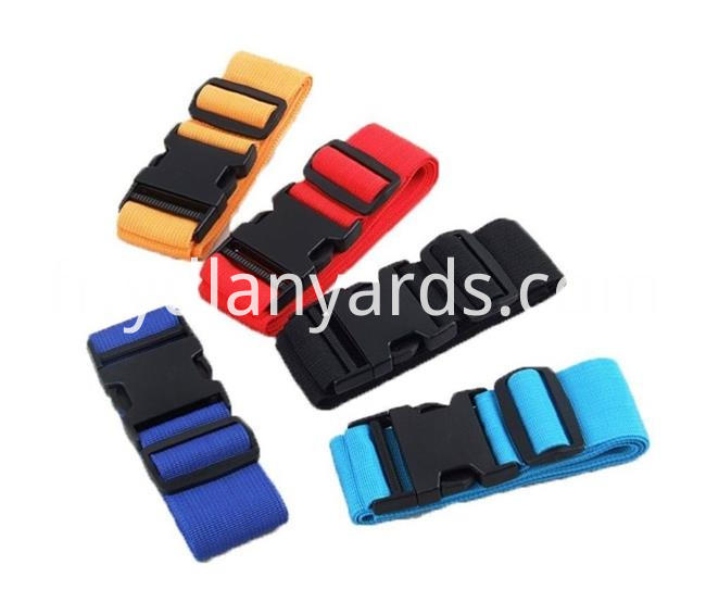 Plastic Buckle Luggage Strap