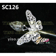 butterfly crystal scepter