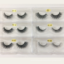 Factory price synthetic strip lash false eyelash with custom logo or private label