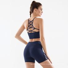 Shorts de entrenamiento de cintura alta para mujer