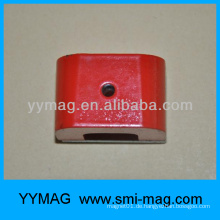 Rote Farbe Alnico Hufeisenmagnet