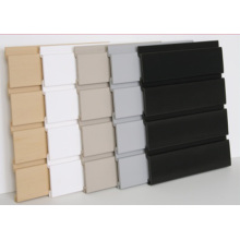 PVC Slatwall Panels With Four Gaps
