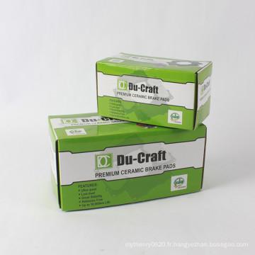 Boîte en carton ondulée faite sur commande d'emballage de carton de production d'usine
