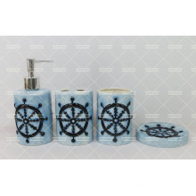 Conjunto de baño de estilo azul marino