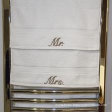 Luxury Hotel Custom Logo Cotton Bath Towel Hand Towel Face Towels