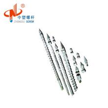 single bimetallic screw barrel for Toshiba or Battenfeld injection machine direct factory