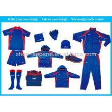 2014 chándal para hombre conjunto de ropa deportiva