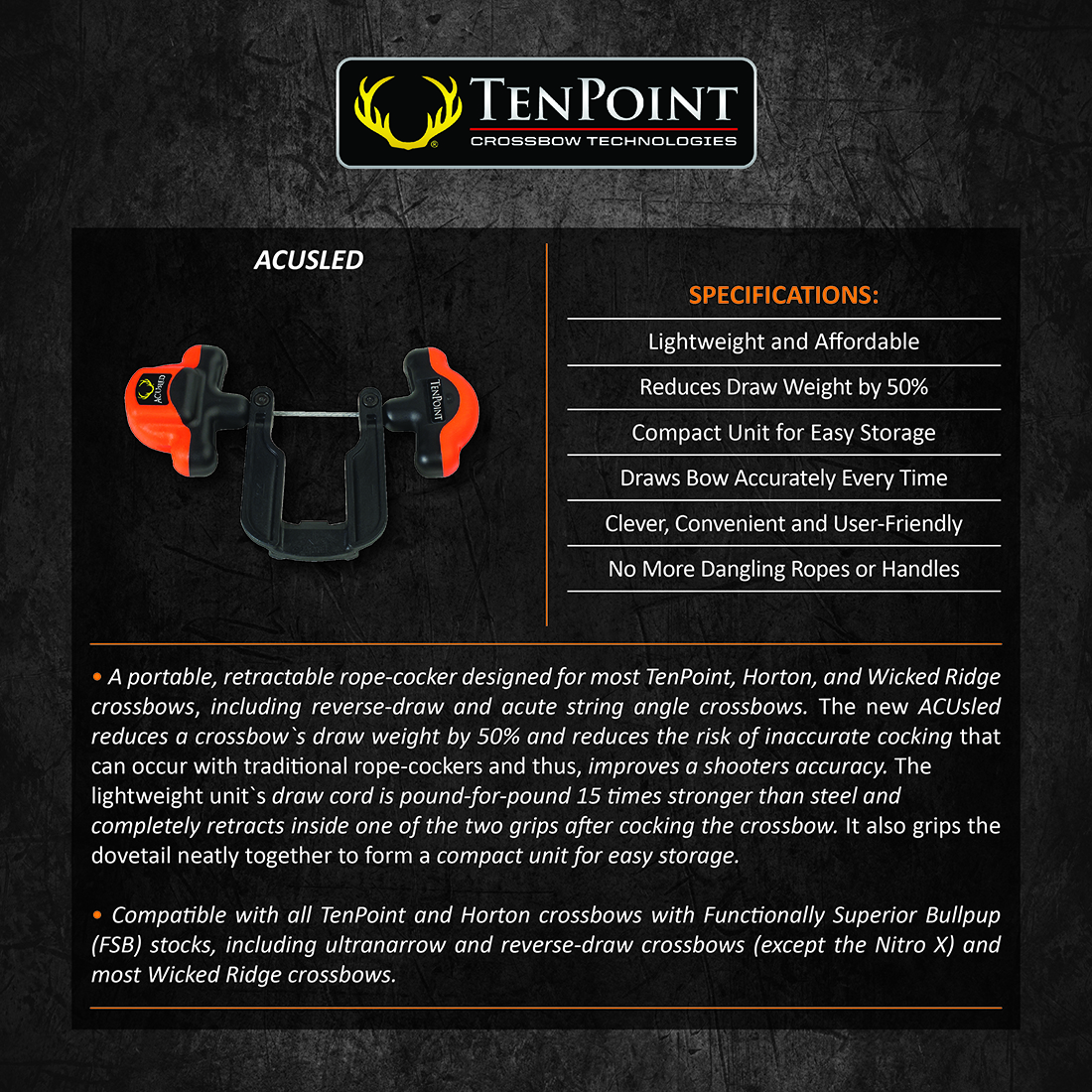 TenPoint_ACUsled_Product_Description