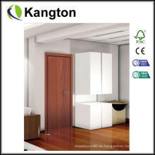 Puerta interior respetuosa del medio ambiente del PVC de la pintura libre (puerta laminada del PVC)