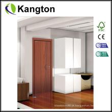 Porta interior do PVC da pintura livre Eco-Amigável (porta laminada PVC)