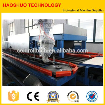 Hot Sale Roof PU Foam Sandwich Panel Making Machine