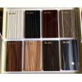 Armários de cozinha acrílicos lustrosos personalizados da madeira para a mobília do hotel (acrílico para portas de armário)