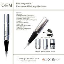 Máquina de tatuagem permanente da máquina de maquiagem permanente recarregável (zx1218)