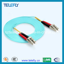 Om3 / Om4 LC Cable de conexión dúplex