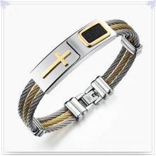 Männer Art- und Weiseart- und weisearmband-Edelstahl-Armband (BR192)