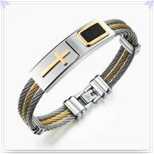 Men′s Fashion Fashion Bracelet Stainless Steel Bangle (BR192)