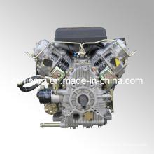 15HP Air-Cooled Two Cylinder Diesel Engine Black Color (2V86F)