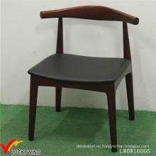 Interior Rústico Retro silla de madera retro respaldo