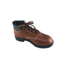 Zapatos de seguridad de cuero de estilo básico