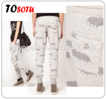 HD02 Bat printing women's sports and leisure pants