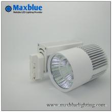 3000k Warmes weißes Ra90 + Epistar COB LED Schienen-Licht