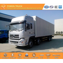 Dongfeng Tianlong 8X4 Van Box Truck Hot Sale