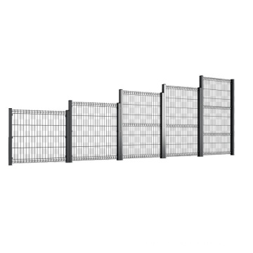 Widely Used cheap price PVC Coated 3D Fence