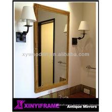 Decency fancy framed bathroom mirror full length dressing mirror bathroom vanity mirror