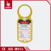 BOSHI cerradura de seguridad de aluminio Hasp BD-K52, amarillo