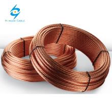 Hard Drawn - Bare Copper Conductors with gold supplier